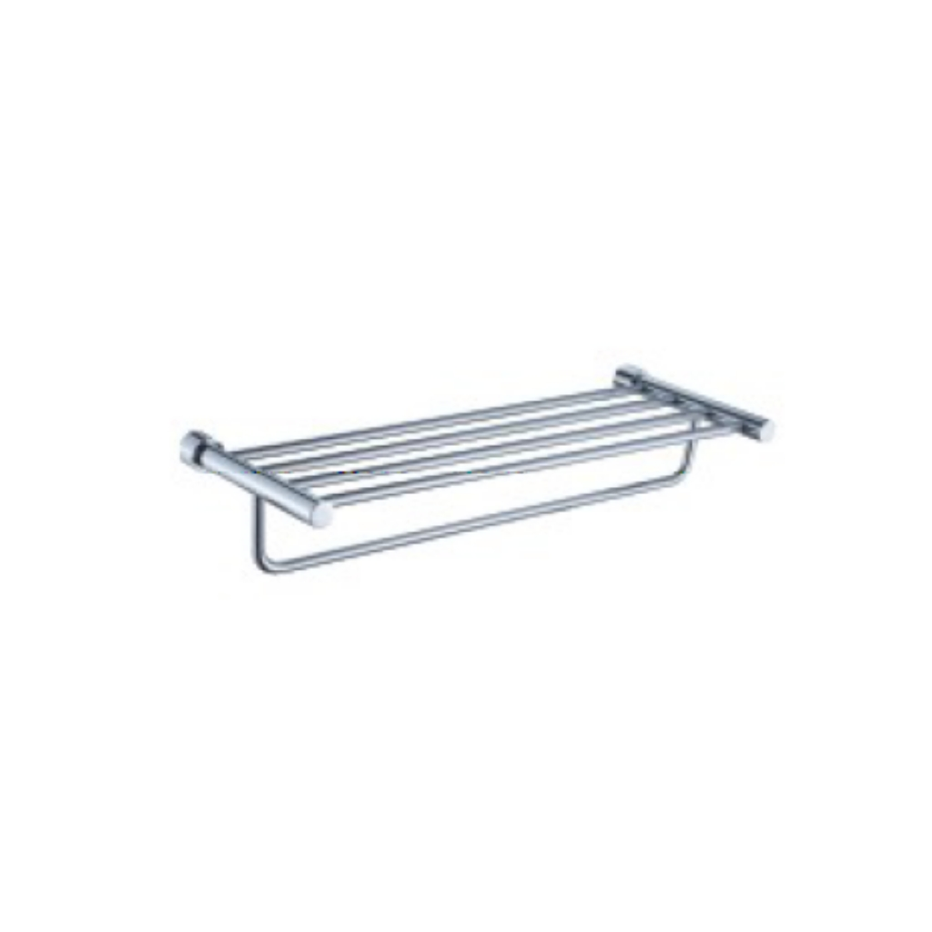 Brass Chrome Towel Shelf 88012